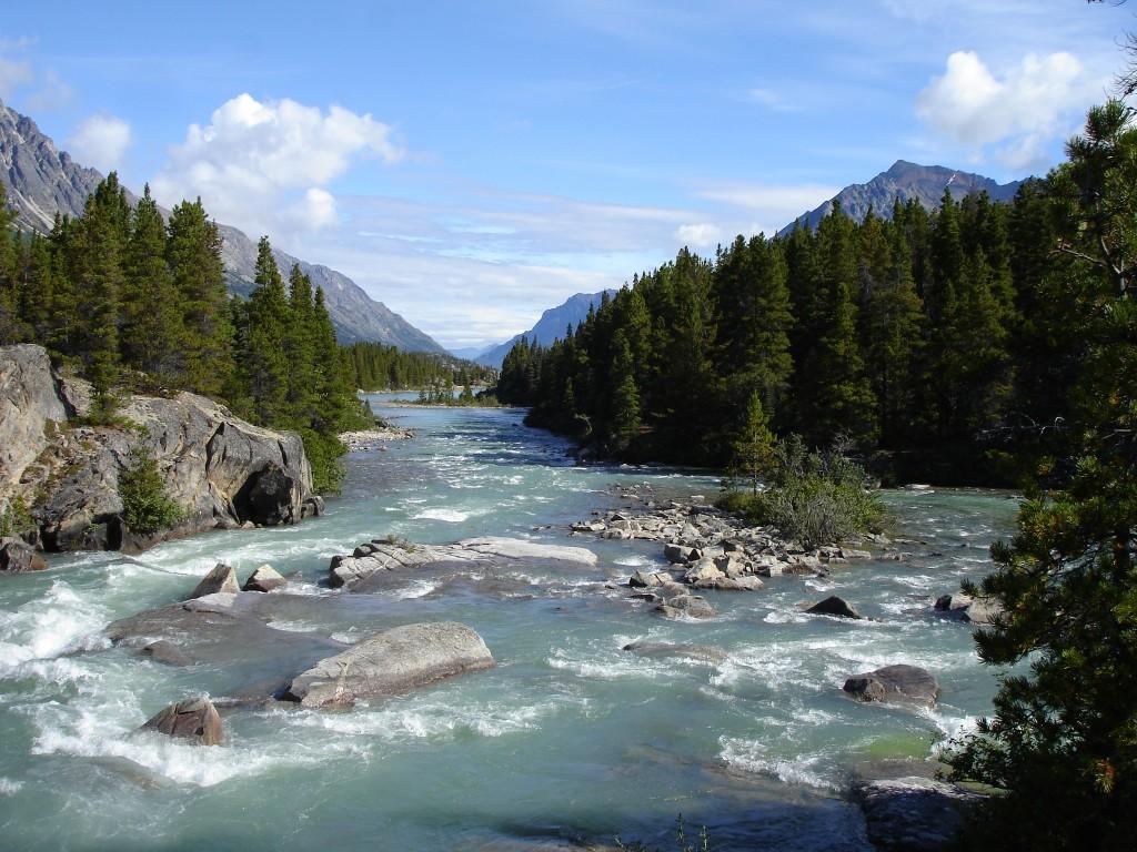 12 El río hacia Lake Bennett