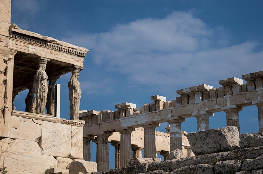 Viajar a Grecias es reencontrarte con la Historia del Arte