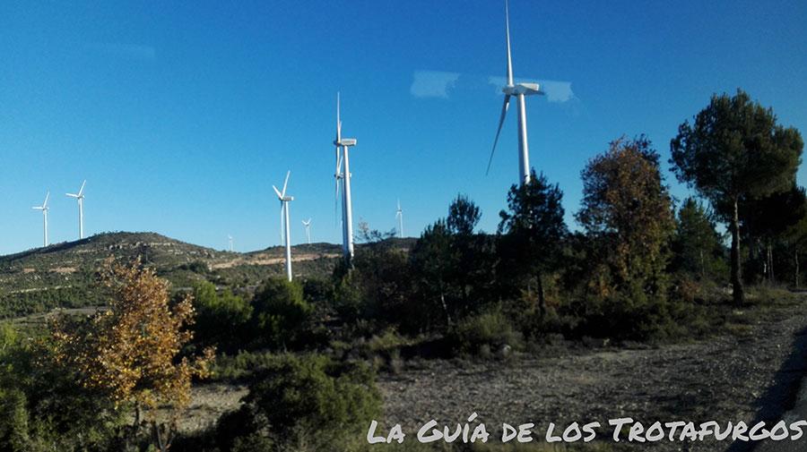 Parque eólico del Rubió