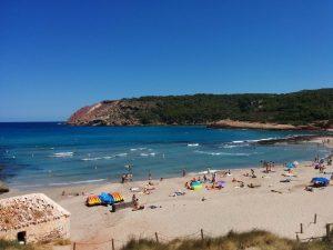 Cala Algaiarens, una de las 5 mejores calas de Menorca