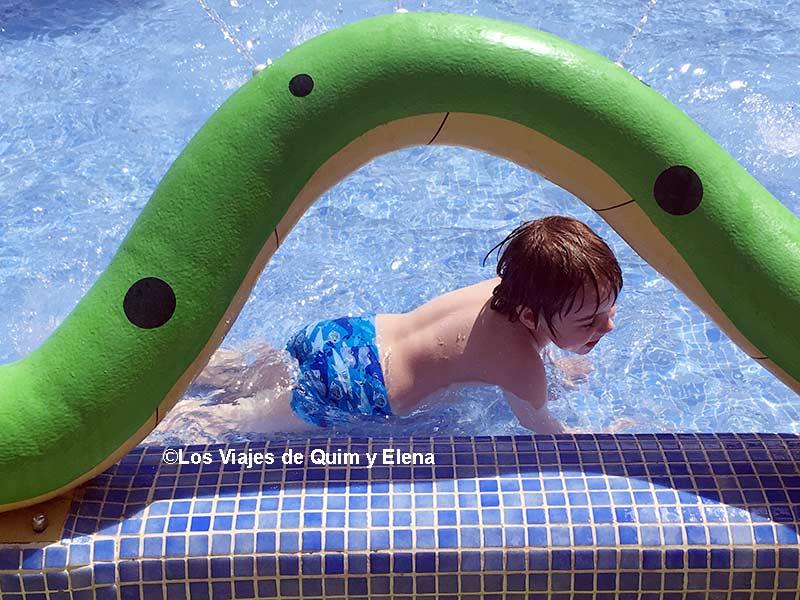 Parque acuático, viajes más divertidos con niños