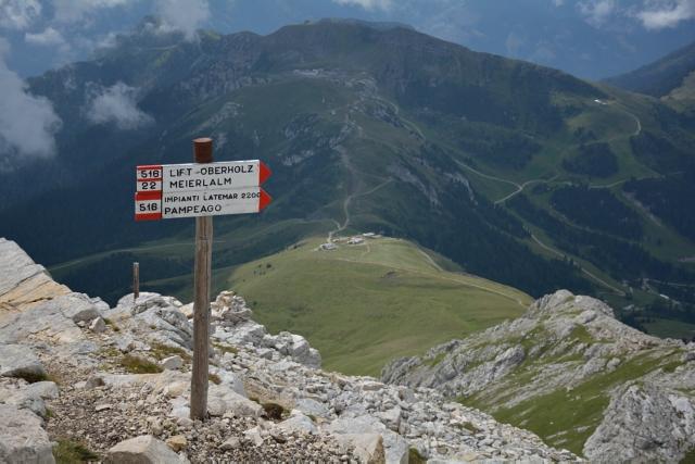 senderos de montaña